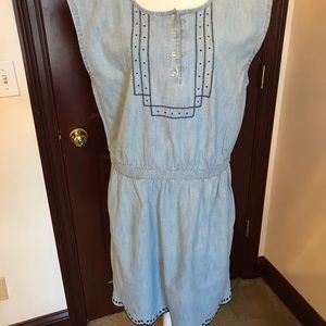 Chambray Dress. Sz. Xl